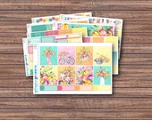 Tulips Weekly Kit | Spring Planner Stickers | ECLP | Happy Planner | Recollections Planner | Weekly Planner Stickers