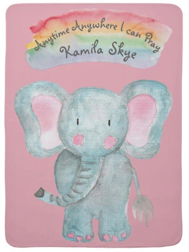 Jw personalize rainbow baby elephant blanket jw baby gift jw jw personalize rainbow baby elephant blanket jw baby gift jw nursery jw gifts custom baby blanket lmsstudio jw spanish negle Images
