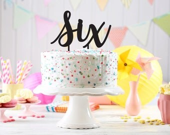 Birthday Party Cake Topper, Kids party cake topper, Birthday cake Topper age, Customizable birthday cake topper, party decoration, topper