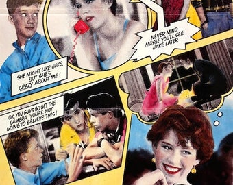 """Nos 16 CANDLES Molly Ringwald 24""""x 36"""" Movie Poster"""