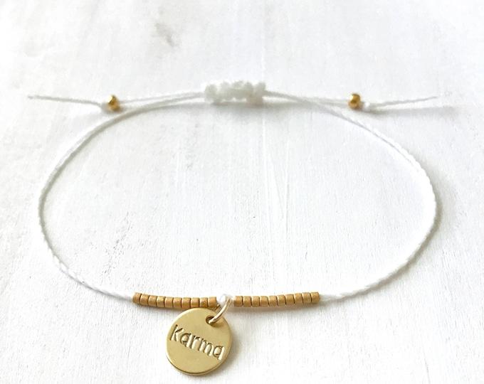 Karma Bracelet, Karma Gift Bracelet, Best Selling Everyday, Gold Karma Bracelet, Christmas Gifts 2018