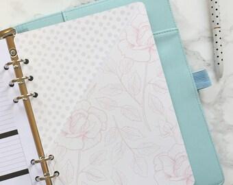 Floral Pocket Folder | Planner Pocket | Pocket Divider | Pocket Dashboard - A5