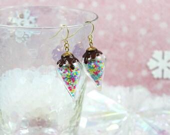 Rainbow Sprinkles Kawaii Candy Jewelry Rainbow Jewelry