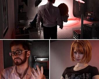 Max Caulfield as Mark Jefferson. Dark Room. Cosplay Print with signature.