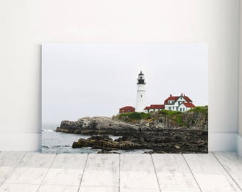 Landscape Photography - Portland Head Light - Cape Elizabeth - Lighthouse Photography - Maine Lighthouse - Portland Head Light Photography