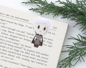Rowan - Magnetic bookmark  || throne of glass, sarah, celaena, fae prince, heir of fire, book lover gifts