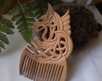Hair care Wooden comb Hair accessories Womens gift  Gift for her Wife gift Girlfriend gifts Gift for girlfriend Mother gift Sister gift