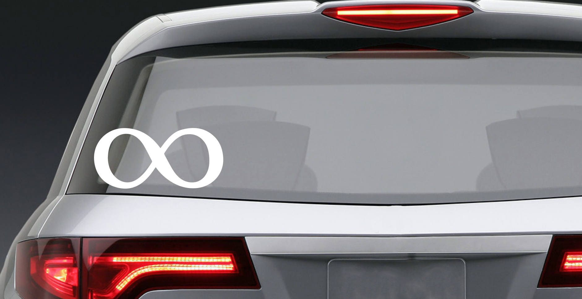Infinity symbol vinyl decal car window or bumper laptop phone sold by karbafos biocorpaavc Choice Image