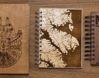 Custom Wooden Journal