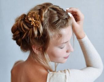 Flower hairpiece | Etsy