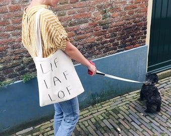 LIF Cowardly praise-Canvas bag