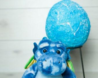Medium Dragon Egg - Blue