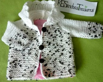 Warm Jacket for Baby Girl