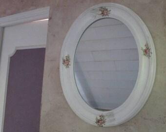 Shabby chic style mirror