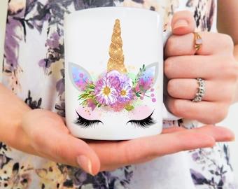 Unicorn Mug | Unicorn Face, Christmas Gift, Magical Unicorn, Magical Mug, Unicorn Magic Mug, Cute Unicorn Mug, Gifts for Her, Valentine