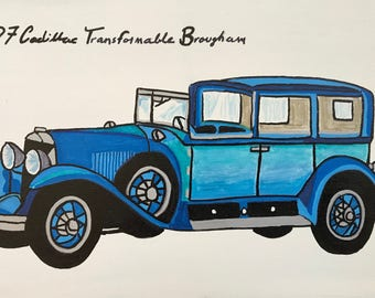 1927 Cadillac Transformable Brougham