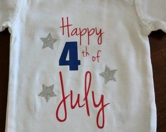4th of July bodysuit