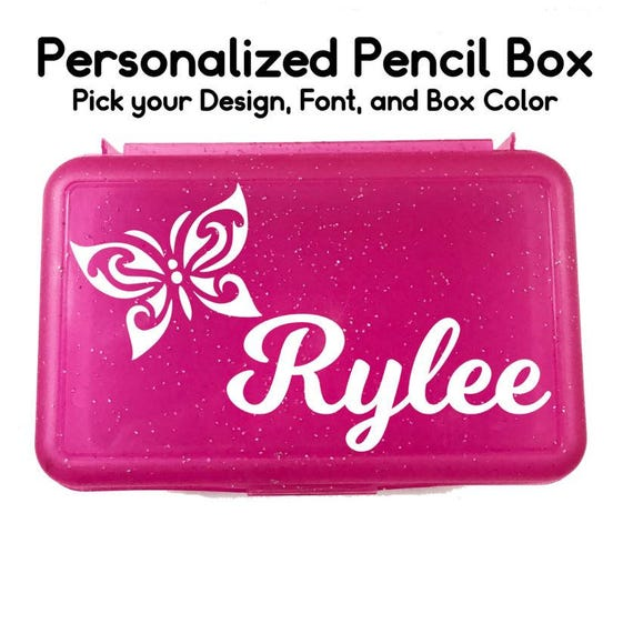 Glitter Gift - Personalized Pencil Box