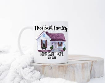 Custom Housewarming Mug, Housewarming Gift, Home Owner Gift,  New Homeowner Gift, Homeowner Mug, New Home Owner Gifts, New Home Gift, Gifts