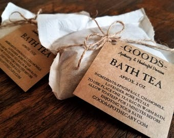 Bath Tea, Bath Soak