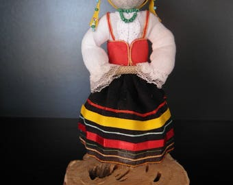 Doll in national Croatian costume / 18cm / Doll from Croatia / Interior doll / Decorative doll / Souvenir doll / Croation doll