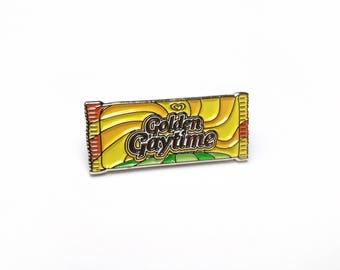 GOLDEN GAYTIME Australian Pin Lapel Enamel