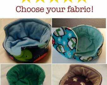 Custom Cuddle Cup for Guinea Pigs, Hedgehogs, and Other Small Pets!