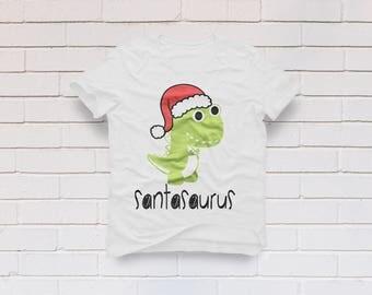 Santasaurus svg file, Merry Christmas svg, Christmas svg, Dinosaur svg, T-rex svg, Santa svg, Funny svg, Cricut, Cameo, Svg, DXF, Png, Eps