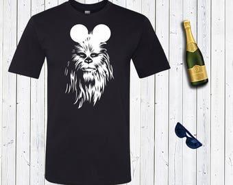 Star Wars Disney Chewbacca Men's Shirt. Darth Vader Dad Vacation Shirts. Star Wars. Star Wars Shirt [R1697]