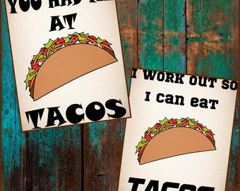 Taco SVG - Taco t-shirt SVG - Taco layered svg files made for cricut and silhouette