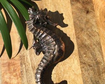 Seahorse Door Knocker Copper Bronze
