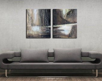 20 x 60 inch canvas etsy. Black Bedroom Furniture Sets. Home Design Ideas