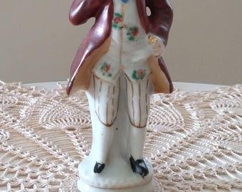 Vintage Occupied Japan Figurine of Man Thinking
