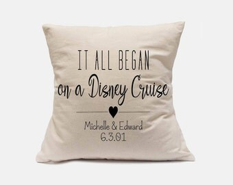 it all began pillow,names pillow,personalized gift,grandparent gift,custom gift,name pillow,anniversary gift,Wedding Gift,PILLOW with names