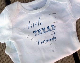 Little Texas Tornado - Baby ONESIE