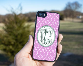 Gift For Girlfriend - Custom Phone Case - iPhone 7 Case - Best Friend Gift - Monogram Phone Case - Personalized Phone Case - Mother's Day