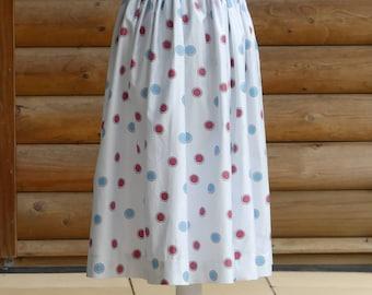 Vintage Clothing for Women Beach Wear Dress 1950s Skirt Womens Fashion Summer Fashion for Women Handmade Clothing Beach Cover Ups Full Skirt