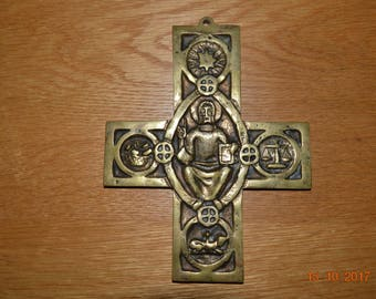 CROSS - Brass cross