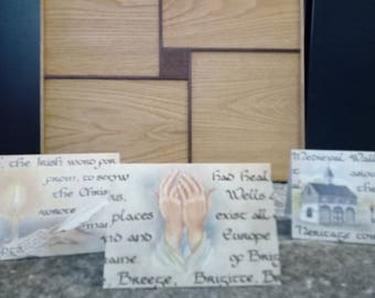 The Healer Blank Greeting Card, Made in Ireland