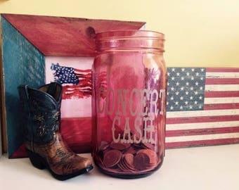 Concert Cash Coin Jar