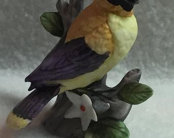 Lefton Miniature Bird on Branch (#041)