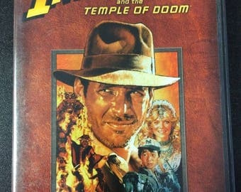 Indiana Jones And The Temple Of Doom DVD - Classic 80's Movie