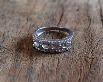 size-4 1/2,sterling silver ring,small ring,gift ring