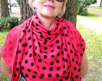 Shawl / 100% cotton/ elegance shawl / gift for Mom/ present