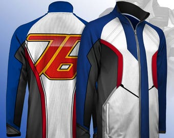 Overwatch Soldier 76 Cosplay Jacket