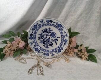 "Rare, Vintage, Meissen, ""Blue Onion"" Dinner Plate"