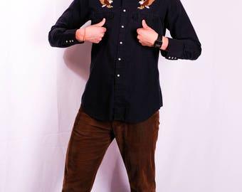 VINTAGE Eagle Cowboy Shirt