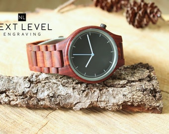 gift for men christmas gift for boyfriend unique gifts for him mens wooden watch husband