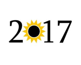 Total Eclipse 2017 SVG, solar eclipes 2017 svg, easy cricut cutting file, Eclipse 2017 svg, vector svg, moon svg, sun svg, I blacked out svg