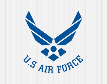 US Air Force Logo Svg- United States Air Force svg - INSTANT DOWNLOAD - 1-Dxf, Eps, Pdf, Png, Svg - Cricut - Silhouette